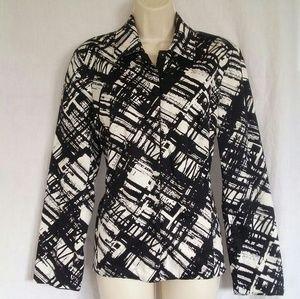 Coldwater Creek print blazer